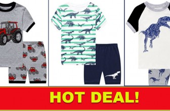 WHOA! BOY'S Jammies As Low As $2.80 SHIPPED!