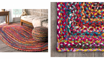 Super Colorful Braided Rug – EPIC PRICE CUT! *Ships FREE*