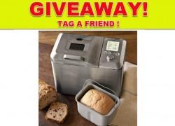Enter to win a Bread Machine!!