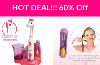60% Off Brusheez Kid's Electric Toothbrush Set – Sparkle the Unicorn