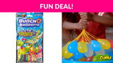 Bunch O Balloons 100 Rapid-Fill Crazy Color Water Balloons