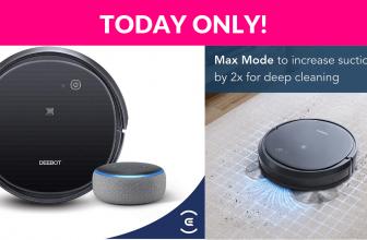 Deebot & Echo Dot 48% OFF!