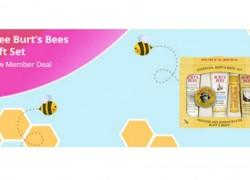 FREE Burt's Bees Gift Set for New TopCashBack Members!