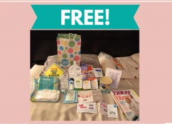 TOTALLY FREE Baby Goodie Bag!