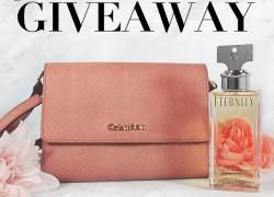 Win a Calvin Klein Crossbody Purse & Eternity Perfume!!!