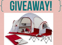 Going Camping? Win this $170 Camping set!!!