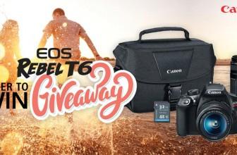 Win a Canon Camera & memory card!