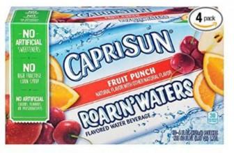 4-pk Capri Sun Roarin' Waters Only $6.47 Shipped!