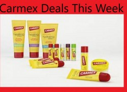 New Carmex Coupons & Deals to Save Up to 65% at Target!