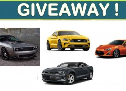 Enter to Win a Vehicle of Your Choice!