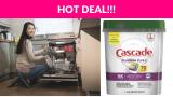 Cascade Platinum Plus Dishwasher Pods SS Deal
