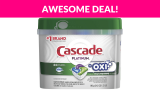 Cascade Platinum ActionPacs + Oxi, Dishwasher Detergent
