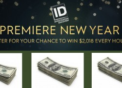 January 1st Only! Investigation Discovery's Premiere New Year Sweepstakes (Hourly Codes)