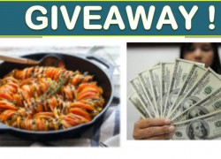 Win $1,000 CASH,  Kitchen pans AND MORE!