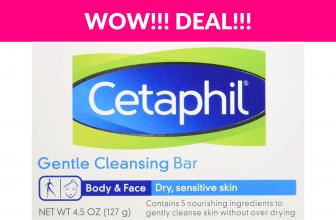 65% OFF! Cetaphil Gentle Cleansing Bar