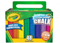48-pc Crayola Sidewalk Chalk Only $5.99 (Reg. $9.99)