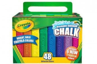 48-pc Crayola Sidewalk Chalk Only $5.99 (Reg. $9.99)