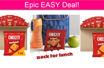 Cheez It 40 Count Pack – PENNIES EA!