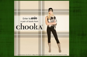 Win a Pair of Chooka Boots