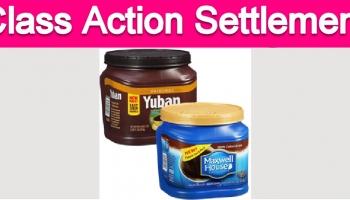 Maxwell House & Yuban Coffee Class Action Settlement