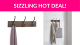 53% OFF! Wall Mounted Standard Coat Rack 2-Pack