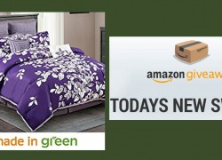 Win a  8-pc. Luxury Purple Comforter Set ! Worth $216 !