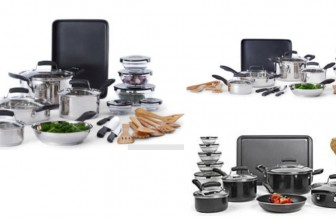 WOW! 25-pc. Stainless Steel Cookware Set ONLY $34.99  ( Reg. $200 )