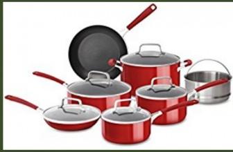 INSTANT WIN: KitchenAid 12 PC Cookware Set!