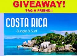 Win a Trip To Costa Rica !
