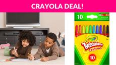 Crayola Mini Twistables Crayons 10-PK