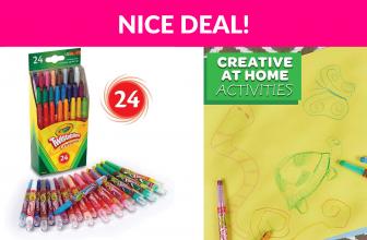 Crayola Twistables Crayons Coloring Set
