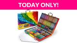37% Off Crayola 140 Count Art Set, Rainbow Inspiration Art Case
