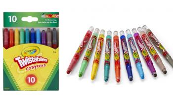 BIG PRICE DROP! Crayola Twistables Crayons CHEAP!
