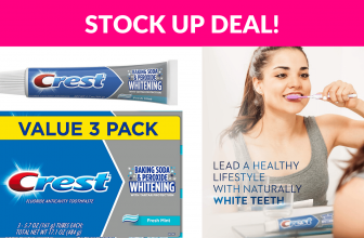 Crest Cavity & Tartar Protection Toothpaste