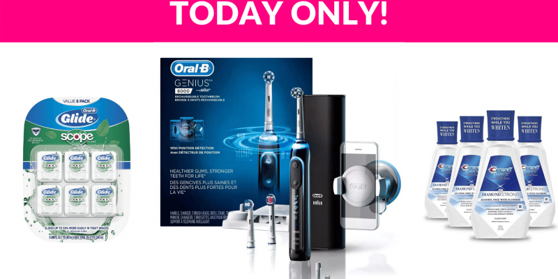 Save Up To 50% OFF on Oral B and Crest