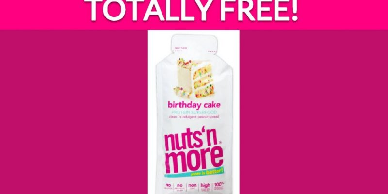 Free Birthday Cake Protein Spread by Mail!