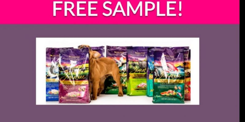 Free Dog Food Goodie Bag!