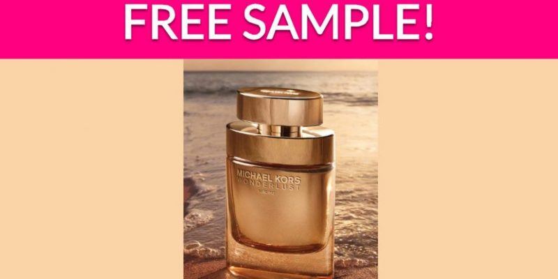 Free Sample by Mail of Michael Kors Fragrance!
