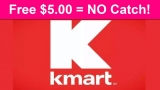 FREE $5.00 To Spend at Kmart – SUPER Easy!