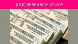 Free $100 Health Research Study!