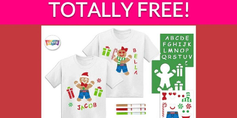Totally Free Kid's T-Shirt!