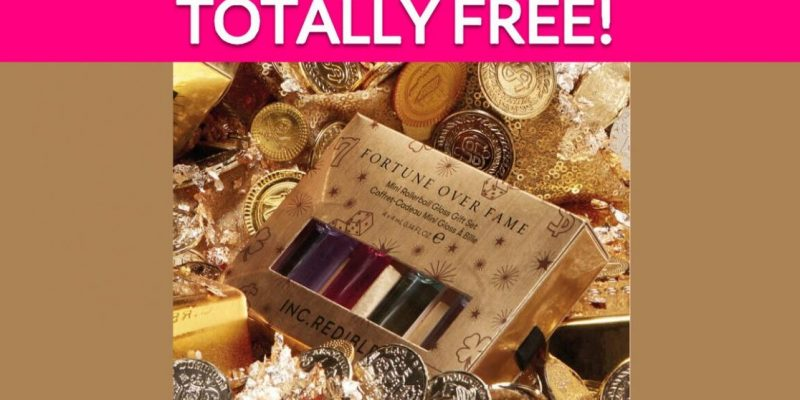 Free INC.redible Fortune Over Fame Holiday Kit!