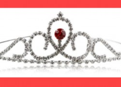 [ FREE LIKE A QUEEN! ] Crystal Crown ONLY $4.95 SHIPPED!