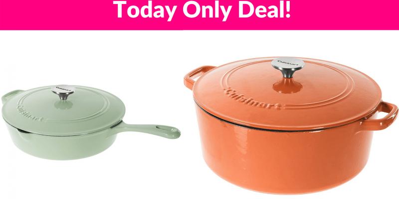 Hot Deals on Cuisinart Cast Iron Cookware