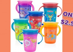 Nuby Sippy Cups ONLY $2.57 SHIPPED! [ HOT DEAL! ]