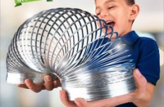 Enter for your chance to win a GIANT metal Slinky