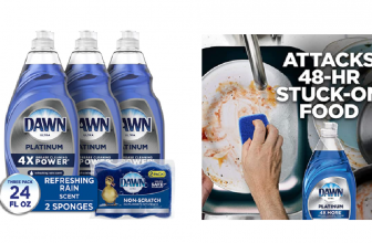 Dawn Dish Soap 3 pack & Sponges CHEAP! Stacking Discounts!