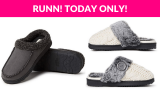 Dearfoams Slippers Up to 56% OFF!