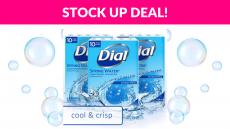 50% OFF! Dial Antibacterial Bar Soap