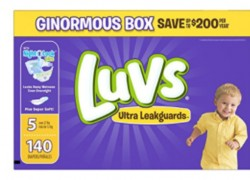 Luvs Ultra Leakguards Diapers – ONLY $0.12 Each!